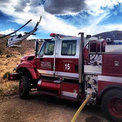 type III wildland fire engine