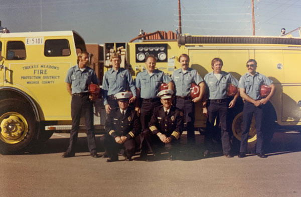 truckee meadows fire and rescue firemen 1970