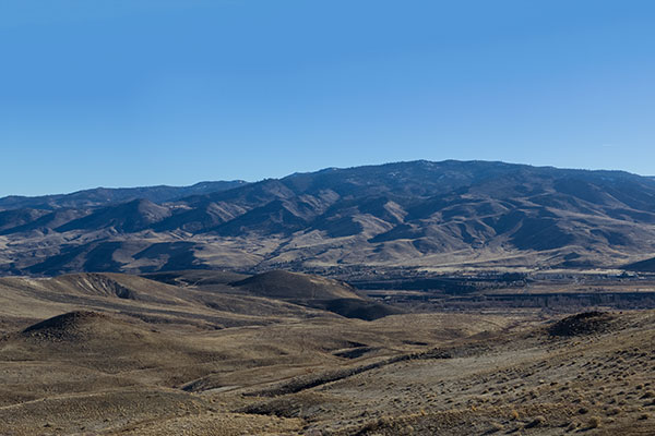 peavine mountain range